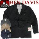 BEN DAVIS ジャケット ベンデイビス アウター ★ ベンデービス ツイルジャケット 3つのポケットが付いて便利 カジュア…