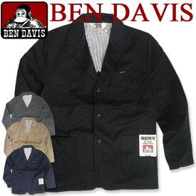 BEN DAVIS ジャケット ベンデイビス アウター ベンデービス ツイルジャケット 3つのポケットが付いて便利 カジュアルに着回せるカッコイイアウターアイテム 秋冬コーデにピッタリなツイル素材のジャケットが登場しました BEN-842