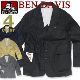 BEN DAVIS ジャケット ベンデイビス アウター ベンデービス 長袖 フロントに3つのポケットが付いて便利。カジュアルに着回せるシンプルでカッコイイアウターアイテムが登場しました。BEN-874