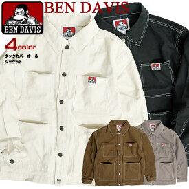 BEN DAVIS カバーオールジャケット ステッチ ベンデイビス ワークジャケット ダック地 メンズ シャツジャケット ゴリラタグ アウターアイテム BENS 2019AW アウターシャツ カジュアル アメカジ 秋冬 メンズアウター BEN-1471