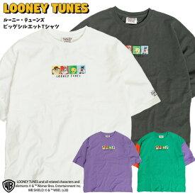ルーニー・テューンズ Tシャツ LOONEY TUNES イラスト 刺繍 ビッグシルエット 半袖Tシャツ ルーニーテューンズ アニメ キャラクター ビッグT メンズ レディース クルーネック キャラT ユニセックス トップス アメカジ TSS-424