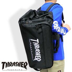 THRASHER ボストンバッグ メンズ 3WAY バッグ スラッシャー リュック ロゴ バックパック 多機能 デイパック thrasher magine リュックサック メンズ ショルダーバッグ レディース 旅行バッグ カバン THRASHER-THRCD601