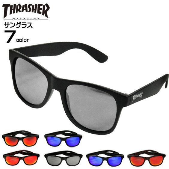 THRASHER サングラス スラッシャー カラーレンズグラス ロゴマーク RADICAL ファッション眼鏡 RADICAL FLAME お洒落メガネ スラッシャーマガジン 紫外線対策 ファッション小物 商品番号 THRASHER-1029
