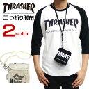 THRASHER 財布 メンズ 2つ折り財布 スラッシャー 小物アイテム メッシュポケット 小物 thrasher magine ストリート系 …
