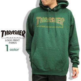 THRASHER パーカー スラッシャー スウェットパーカー メンズ スエット ロゴ プリント プルオーバー スウェット トップス thrasher magazine スケーターファッション スラッシャーマガジン ストリート系 THRASHER-046