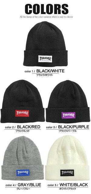 THRASHERニット帽スラッシャーニットキャップカラー展開