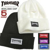 THRASHERニット帽スラッシャーニットキャップ
