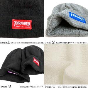 THRASHERニット帽スラッシャーニットキャップ商品詳細