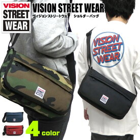 VISION ショルダーバッグ VISION STREET WEAR メッセンジャーバッグ ★ ヴィジョンストリートウェア メッセンジャーバッグ ヴィジョン VSPC400N VISION 男女兼用 ショルダーバッグ シンプル ショルダーバッグ VISION-319