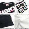Big T-shirt vision product number VISION-004 of VISION T-shirt splashing print VISION STREET WEAR short sleeves T-shirt big logo men print T-shirt logo print street origin