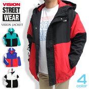 VISIONジャケットヴィジョンストリートウェア中綿ジャケット