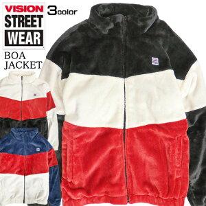VISIONジャケットヴィジョンストリートウェアボアジャケット