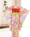 七五三 レンタル 7歳 女の子 j7157 ぷちぷりブランド「クラシック」 ピンクに慶び祝花 〔フルセット〕〔七五三 着物…