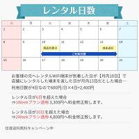 レンタル日数について