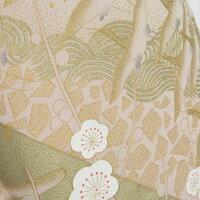 色留袖桂由美祝いの鶴