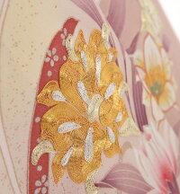 色留袖MR-2931鬘帯と吉祥花ピンク53