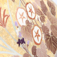 【レンタル】色留袖レンタルmiit_175色留袖吉澤友禅草花斜目取り琳派園|