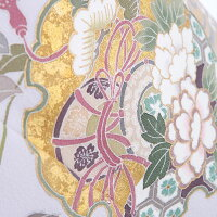 【レンタル】色留袖レンタルmiit_179色留袖皷雪輪吉祥文|