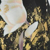 【留袖レンタル】mito_435宮崎玄祥祝彩白華女性正絹黒留袖結婚式貸衣装|フルセット服装親族レンタル着物母親フルレンタル黒留め袖着物セット柄着付けセット小物セット帯締め草履バッグセット婚礼★新品足袋プレゼント★【往復送料無料