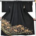 身長135cm〜140cmに対応レンタル留袖フルセット【往復送料無料!一部離島は除く】結婚式・貸衣装・髪飾り付【黒留袖】…