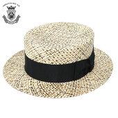 帽子ハットカンカン帽メンズ夏紳士ストローハット大きいサイズブランドEDHATエドハットベージュナチュラルサイズ調節帽子春夏ボーターハット日本製送料無料