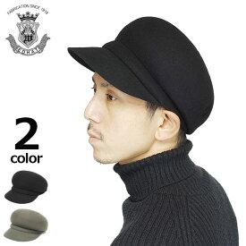 帽子 キャスケット メンズ レディース フェルト ウール 秋冬 ブラック 黒 グレー ブランド EDOHAT エドハット 日本製 大きいサイズ 小さいサイズ サイズ調節 シンプル 無地 高級 送料無料