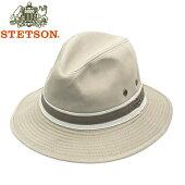 STETSONステットソンコットンメンズつば広ハットマニッシュサンドベージュ帽子大きいサイズ小さいサイズ春夏秋冬一年中