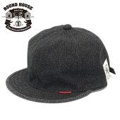 帽子キャップつば短いメンズ春夏ブランドROUNDHOUSEラウンドハウスTheSkilledWorkersスキルドワーカーズブラックシャンブレープリズナーキャップアメカジワークバイカーシンプル大きいサイズ