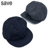 キャップ帽子メンズレディース洗える春夏秋冬短いつばショートバイザーブランドSAVEセーブインディゴベースボールキャップ無地シンプルサイズ調節大きいサイズ小さいサイズアメカジキャンプアウトドア大人