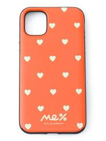 [Rakuten Fashion]【SALE/36%OFF】マットハートDOTSミラー11(iPhone11対応) Me% レピピアルマリオ ファッショングッズ 携帯ケース/アクセサリー オレンジ グリーン ブラック【RBA_E】