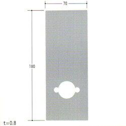 MIWALAゴールLG用穴なしHLエスカッションKE-06(KE06)