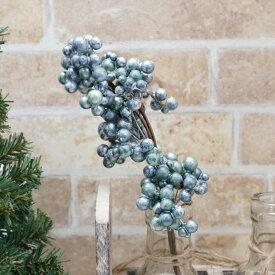 クリスマス飾り アスカ(asca) ベリーピック ブルー 1本 AX-68812-009【青 小物 雑貨 グッズ オーナメント かわいい】