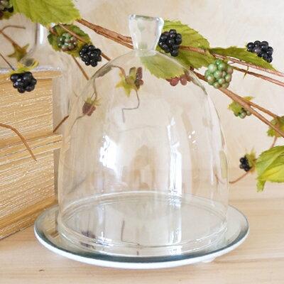 50%OFF ダイヤミラーベースドーム 1個【アレンジメント資材 ガラス 花器 コンポート フラワーベース アウトレット sale セール 訳あり】