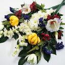 【在庫限り】【仏花 造花】菊のお供え 花束仏花 一対(2束)【bukka27】【お仏壇の花 ご仏前 お供え花 お悔み お彼岸 …