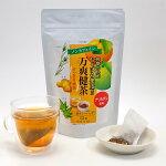 和歌山県産じゃばら果皮使用万爽健茶三角ティーバッグ15袋