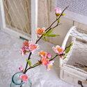 造花やよいの桃ピンク1本FM5774