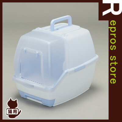 ◆1週間取り替えいらずネコトイレ パープル TIO-530FT アイリスオーヤマ ▼g ペット 猫 キャット