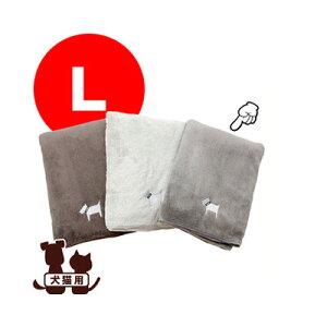 ☆クイックドライタオル L MO[モカ] フレックス販売 ▽b ペット グッズ 犬 ドッグ 猫 キャット