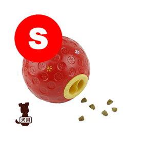 トリートボール S レッド ファンタジーワールド▼w ペット グッズ ドッグ 犬 おもちゃ ボール 知育玩具