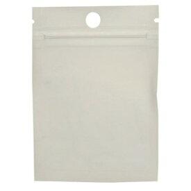 陳列用クリアパック チャック付きラミネート袋 100枚入 ジップパック [ 100×70mm ] 切り込み入り ジッパーパック 半透明 収納袋 ポリ袋