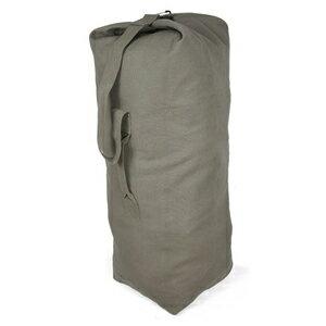 Rothco ダッフルバッグ 帆布 [ フォリアージュグリーン / Mサイズ ] ロスコ ミリタリー バックパック かばん カジュアルバッグ カバン 鞄 大容量 巾着
