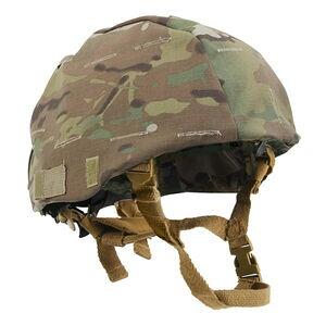 Rothco ヘルメットカバー MICH用 [ マルチカモ ] ROTHCO ミリタリーヘルメット 戦闘用ヘルメット コンバットヘルメット パーツ 部品
