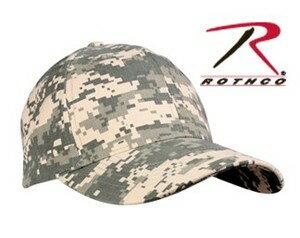 Rothco キャップ ACUデジタルカモ 8187 迷彩 | ベースボールキャップ 野球帽 メンズ ワークキャップ ミリタリーハット ミリタリーキャップ デジタルカモフラージュ ユニバーサルカモ