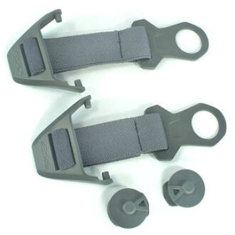 ESS pivots trap profile for helmet mounting fixture goggle attachment |
