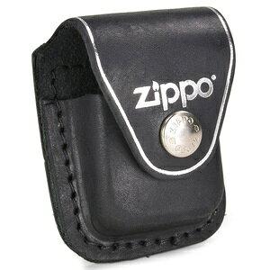 ZIPPO ライターポーチ クリップ付 LPCBK ジッポー オイルライター レザーケース ライターケース