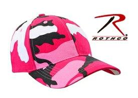 Rothco キャップ シュプリーム 9180 ピンクカモ 迷彩 | ベースボールキャップ 野球帽 メンズ ワークキャップ ミリタリーハット ミリタリーキャップ カモフラージュ 帽子 通販 販売 シンプル 無地