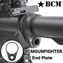BCM 実物 QDスイベルマウント エンドプレート型 AR15/M16/M4対応 Bravo Company MFG END PLATE Receiver Sling Mount ガンスリング ベ…