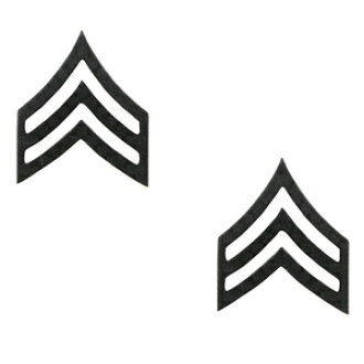 Rothco pin 1603 Sergeant U S  Army class chapter pins military badge  military batch insignia emblem lapel pin epaulettes badge chapter Chevron  arms: