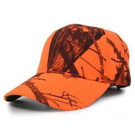 Mossy Oak ブレイズオレンジ 野球帽 リアルツリー 狩猟用キャップ MOSSYOAK ハンティングキャップ RealTree ベースボールキャップ メンズ ワークキャップ ハット ミリタリーキャップ