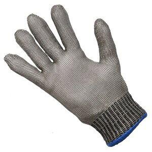 防刃グローブ 片手 ステンレスワイヤー製 インナーグローブ付 軍手 作業用グローブ 作業用手袋 防刃手袋 耐刃